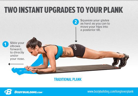 Il plank: il miglior esercizio per addominali
