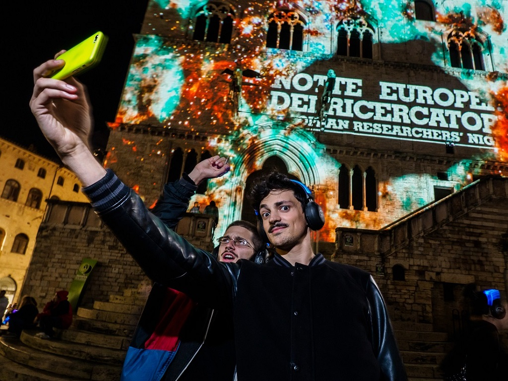 Sharper, notte europea dei ricercatori 2015, Perugia