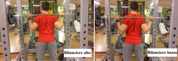 bilanciere squat