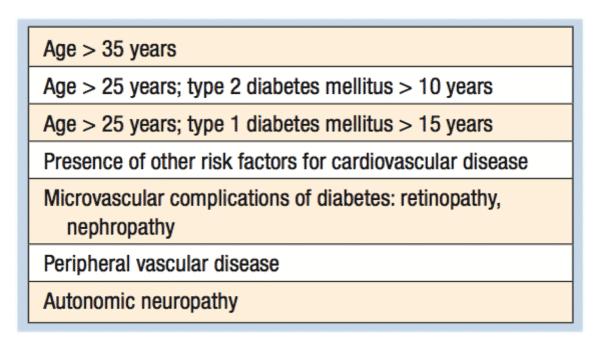 caratteristiche dei pazienti diabetici