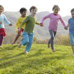 movimento dei bambini