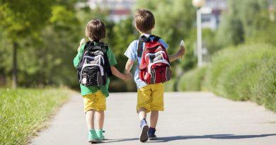 Lo zaino causa mal di schiena nei ragazzi?