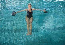 pesi nel nuoto