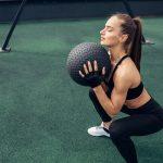 esercizi con palla medica